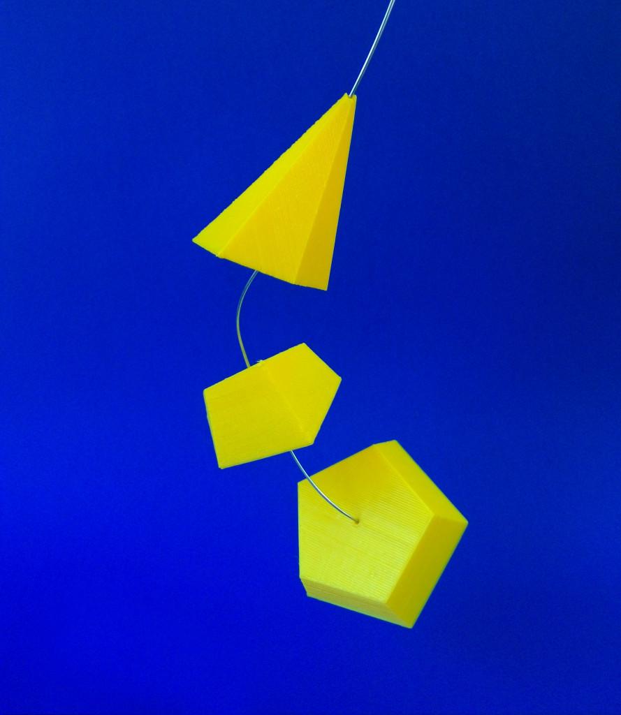 3D printed pyramid