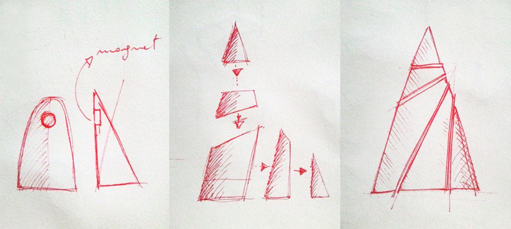 cones sketch