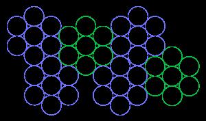 diagramma esagoni