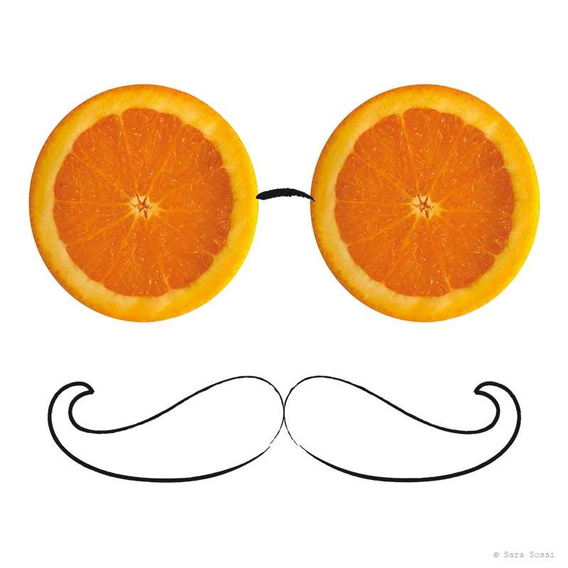 Fruits - eye glasses