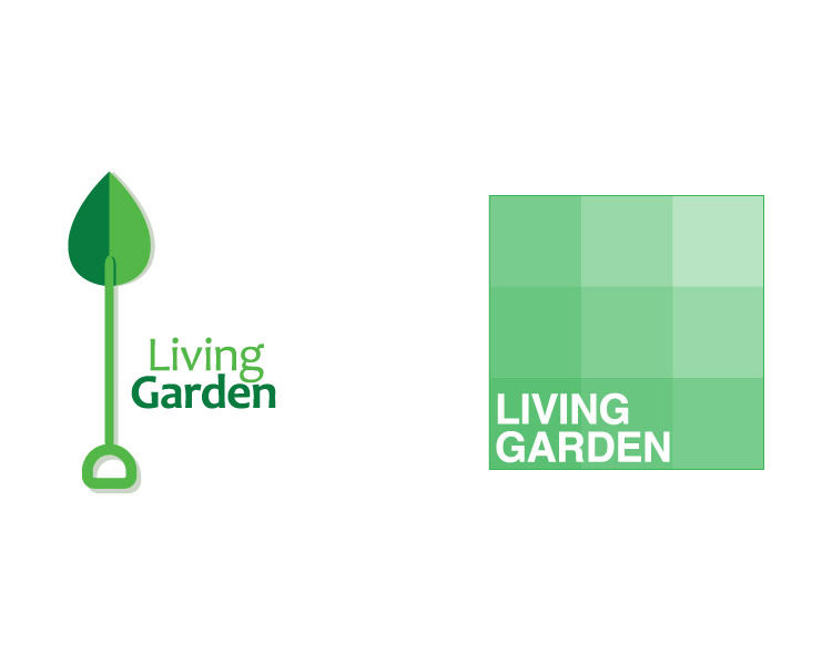 Living Garden - Logo